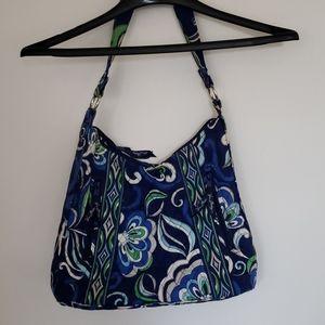 Vera Bradley Lisa B Floral Shoulder Hobo Bag